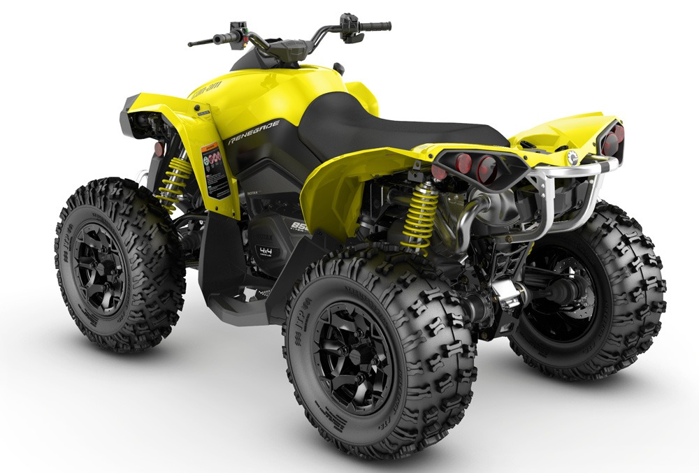 Can-Am Renegade 850 Rear