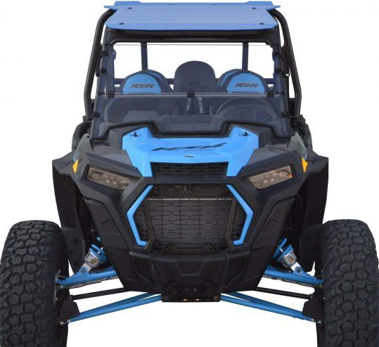 Clearly Tough Folding RZR Windshield