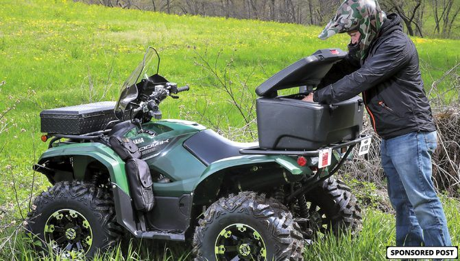 There are a number of Moose Utility Division storage solutions to fit your ATV or UTV.