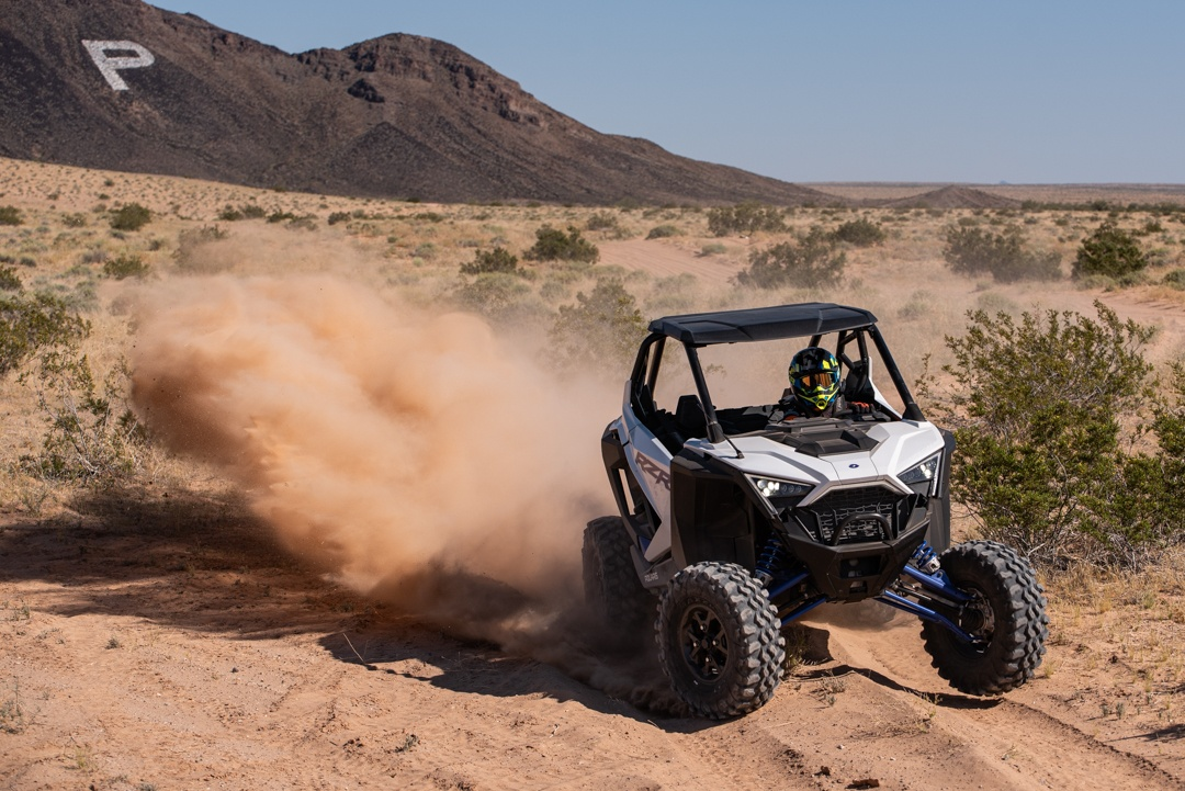 Polaris RZR XP PRO Cornering