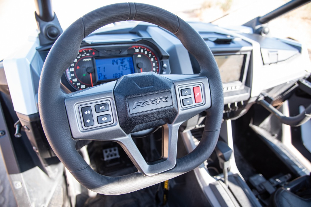 Polaris RZR PRO XP Steering Wheel and Gauges