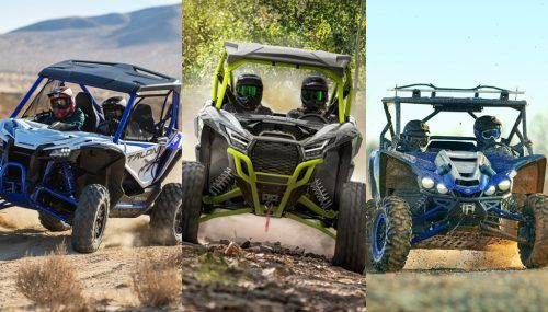 2021 Honda Talon 1000X vs. Kawasaki Teryx KRX 1000 vs. Yamaha YXZ1000R: By the Numbers