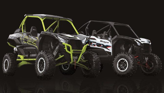 2021 Kawasaki Teryx KRX 1000 Trail Edition and Special Edition Unveiled