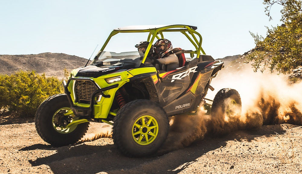 2021 Polaris RZR Turbo S LE Lifted Lime