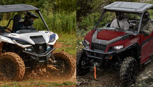 2021 Yamaha Wolverine RMAX2 1000 vs. Polaris General 1000 Deluxe: By the Numbers