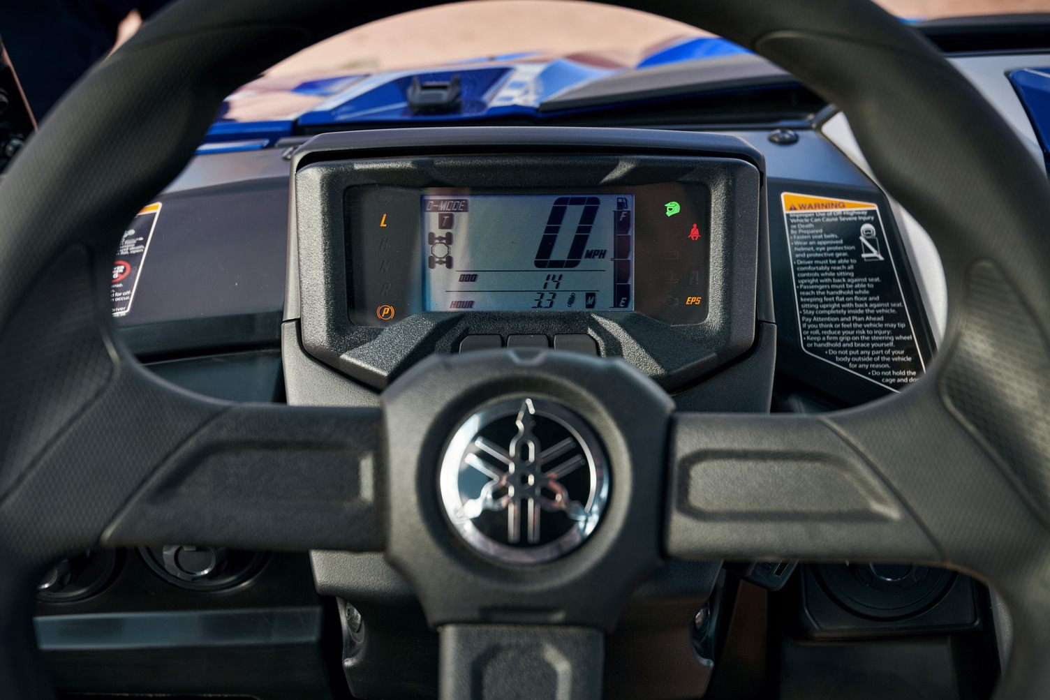 2021 Yamaha Wolverine RMAX2 LE Display