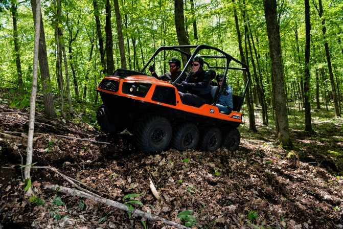 Serious off-road conditions require reliability and agility, which the ARGO Aurora Series delivers in equal measure.