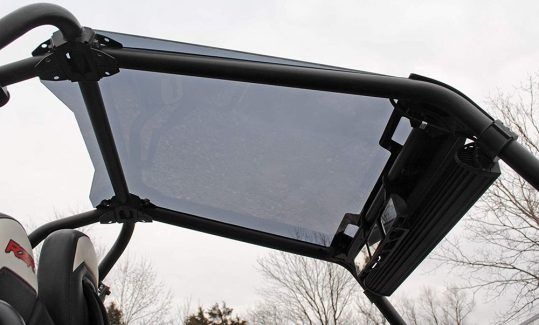 SuperATV Dark Tinted UTV Roof