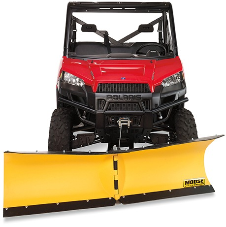 Moose also offers the V-Plow system, recommended for any ATV or UTV 700 cc and up.