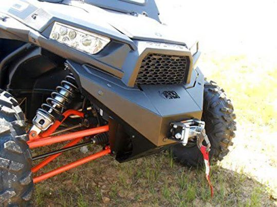 Bad Dawg Front Bumper with Bull Bar Stinger for Polaris RZR 900/900S/900XC/1000