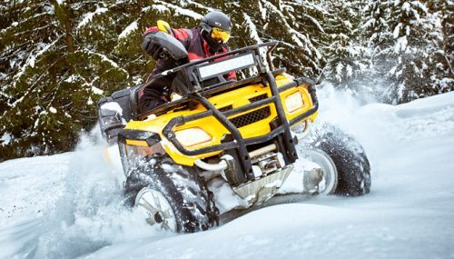 Best ATV Snow Tires For Winter Riding