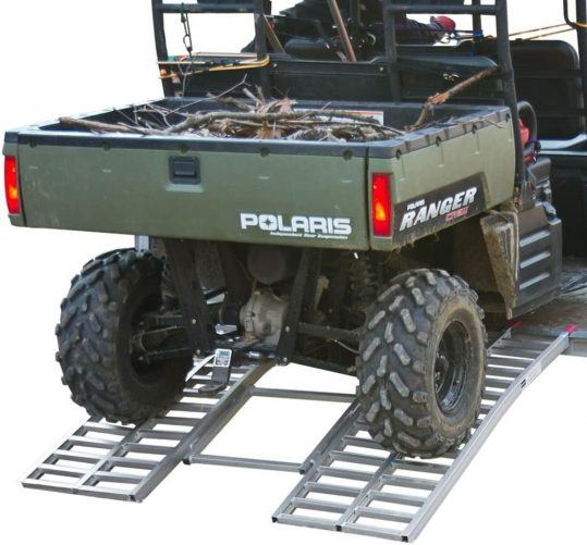 Black Widow Wide Ride Arched UTV Loading Ramp