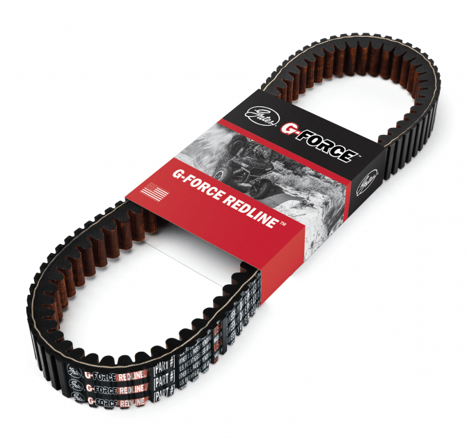 The Gates G-Force RedLine series of CVT belts