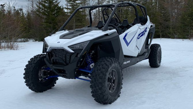 How To Drive A UTV in the Snow
