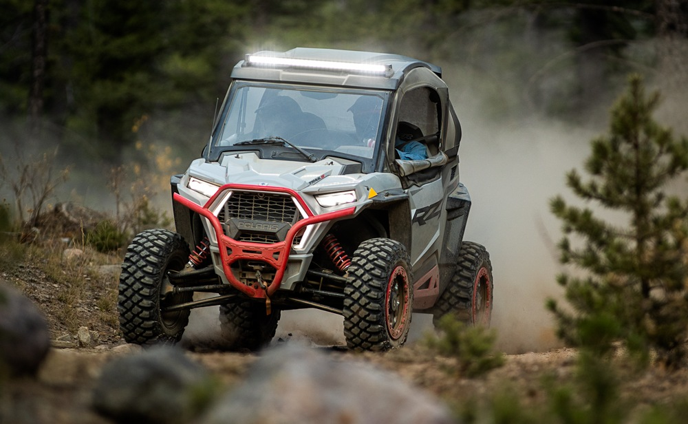 2021 Polaris RZR Trail S 1000 Ultimate Action