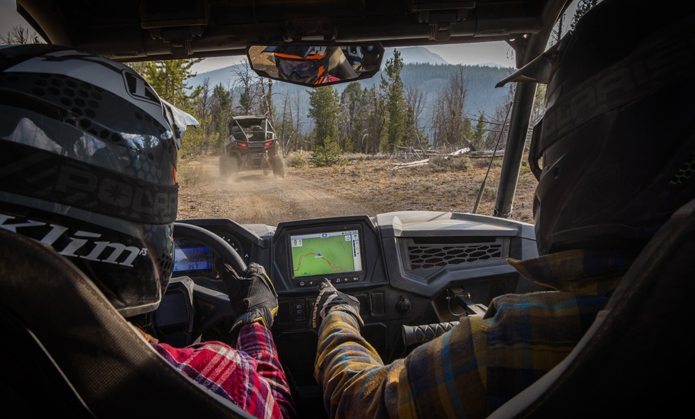 2021 Polaris RZR Trail S 1000 Ultimate Interior