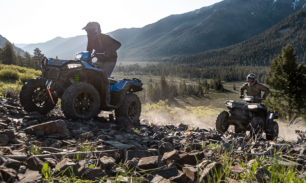 2021 Polaris Sportsman 850 Ultimate Trail Action