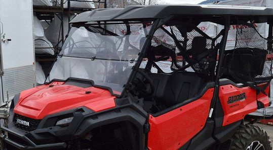 Clearly Tough Full Folding Windshield