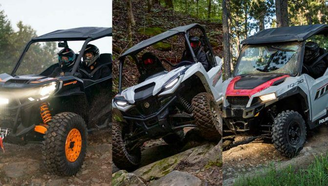Can-Am Commander DPS 1000R vs. Yamaha RMAX2 1000 vs. Polaris General 1000: By the Numbers