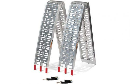 Titan 7.5-Foot Aluminum Plate Top Ramps