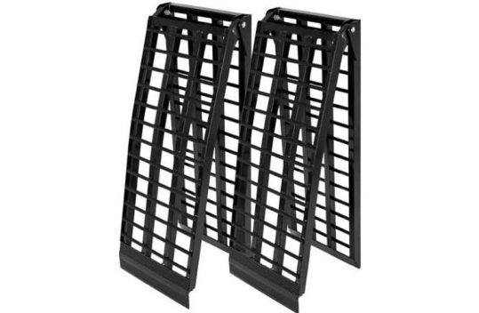 Titan 8-Foot HD Wide 4-Beam UTV Loading Ramps