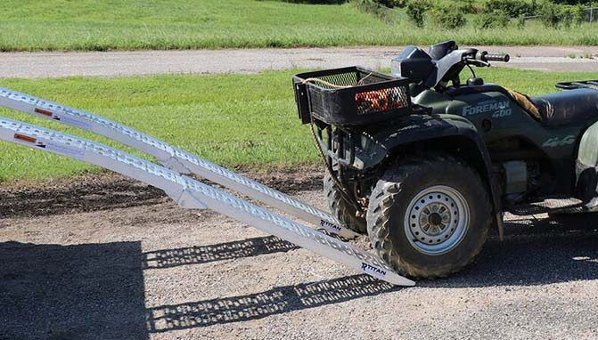 Best Titan Ramps for Loading ATVs and UTVs