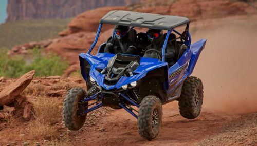 Yamaha Working on Next Level UTV Suspension