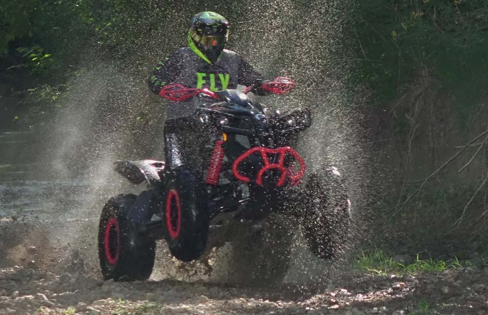 2021 Can-Am Renegade 1000R X XC Action Water
