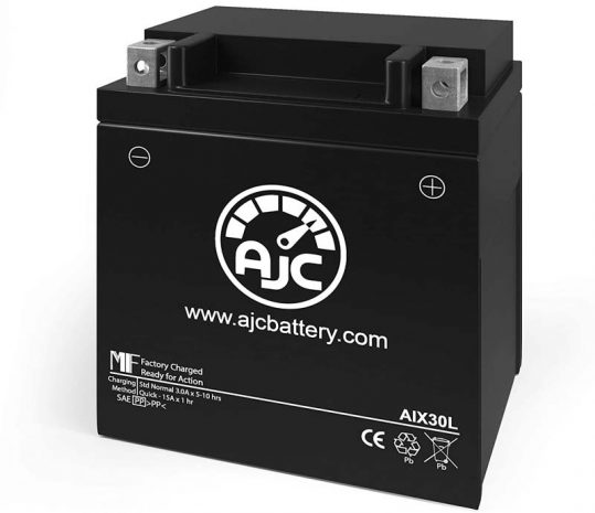 AJC Powersports Replacement Battery