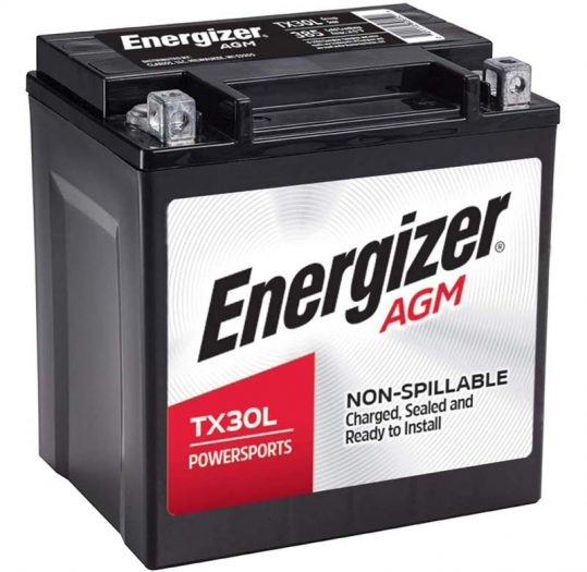 Energizer AGM Motorcycle and ATV Battery