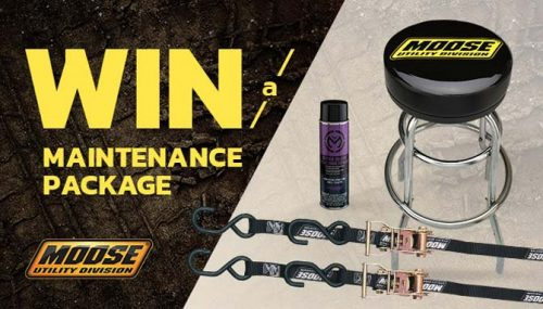 Win an ATV Maintenance Package From Moose Utility Division