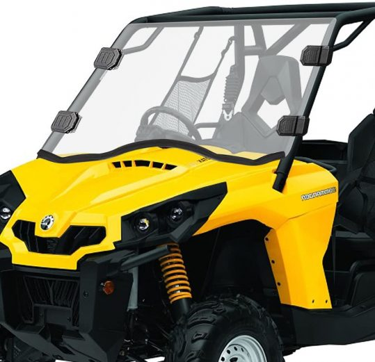 Can-Am Commander Clear Full Windshield