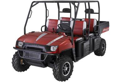 2009 Polaris Ranger Crew Le Sunset Red For Sale Used