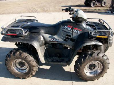 2002 Polaris Sportsman 700 Twin For Sale : Used ATV Clifieds on