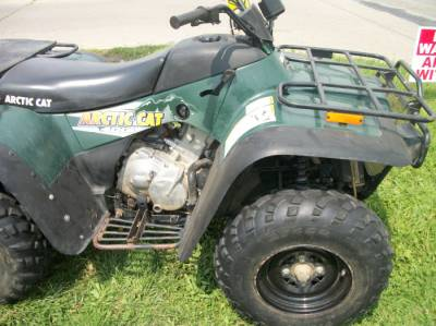 2001 ARCTIC CAT 400 4X4 For Sale : Used ATV Classifieds