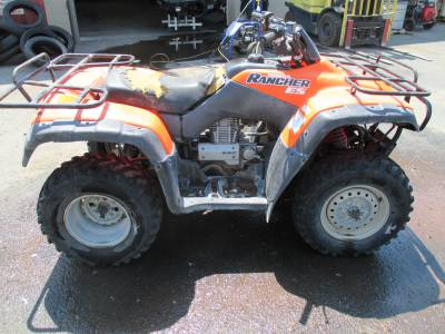 2003 Honda RANCHER 350 ES 4X4 For Sale : Used ATV Classifieds