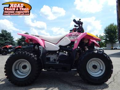 2013 Polaris Outlaw 50 Pink Le For Sale : Used ATV Classifieds