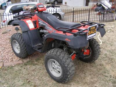 2005 Arctic Cat 400 For Sale : Used ATV Classifieds