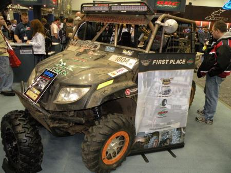 This beefed up Arctic Cat Prowler XTZ 1000 from Bi-Polar Racing won the UTV class at the Baja 1000. In fact, it's the first side-by-side to ever finish the race.