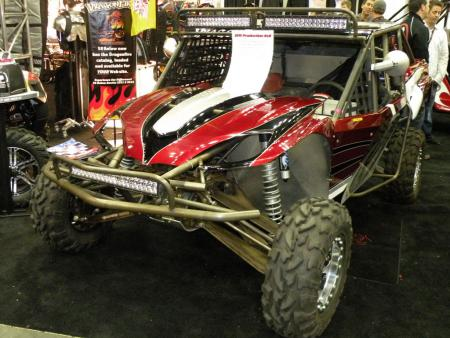DragonFire Racing might be the biggest name in accessories for side-by-sides from Polaris, Yamaha and Kawasaki, but this monster was built from the ground up by DragonFire. What a beast!