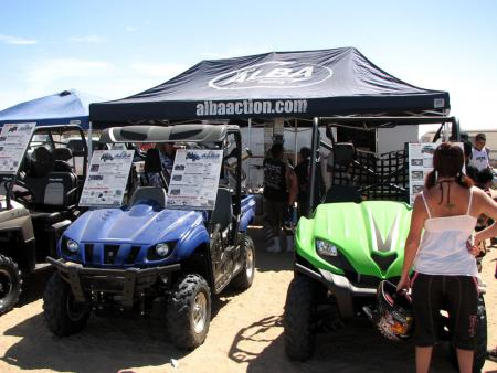 Alba Action was just one of the many vendors on hand to showcase their ATV and UTV products.