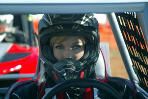 Yours truly – ready to race!