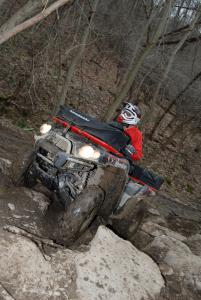 Rock crawling areas will test your mettle.