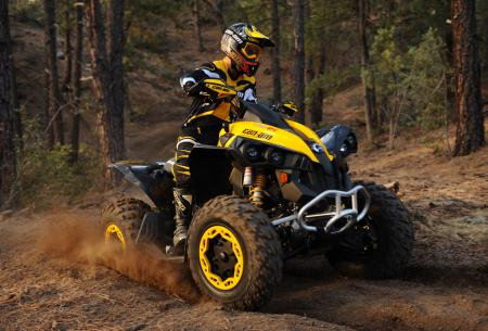 The new Renegade 800R X xc will be tearing up cross country courses everywhere.