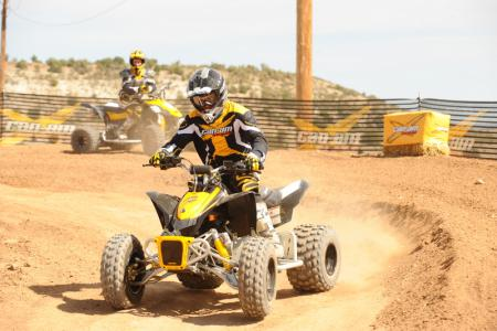 Can-Am gave its DS 90 X new graphics and an updated color scheme.