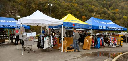 Whatever you're looking for, you'll likely find it in the vendor area.