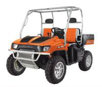 All five Limited Edition models like this Painted Orange Crush Rally are based on existing Ranger side-by-side models.