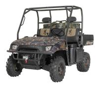 This camo edition comes with a factory-installed Warn winch.