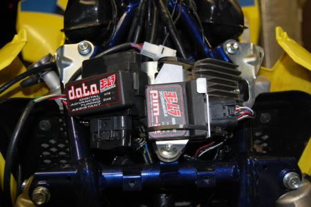 Racers will love the seemingly limitless tuning possibilities you get from Yoshimura's Data Box and PIM II.