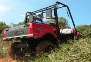 More than a foot of ground clearance will help get you up and over most trail obstacles.
